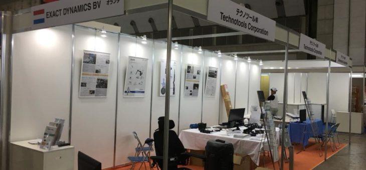 国際福祉機器展HCRではテクノツールさんのブースにて☆